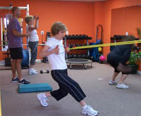 personal training at FitnWell Main Line fitness studio