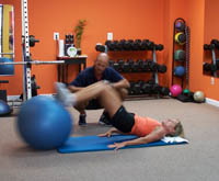 personal training and exercise fitness